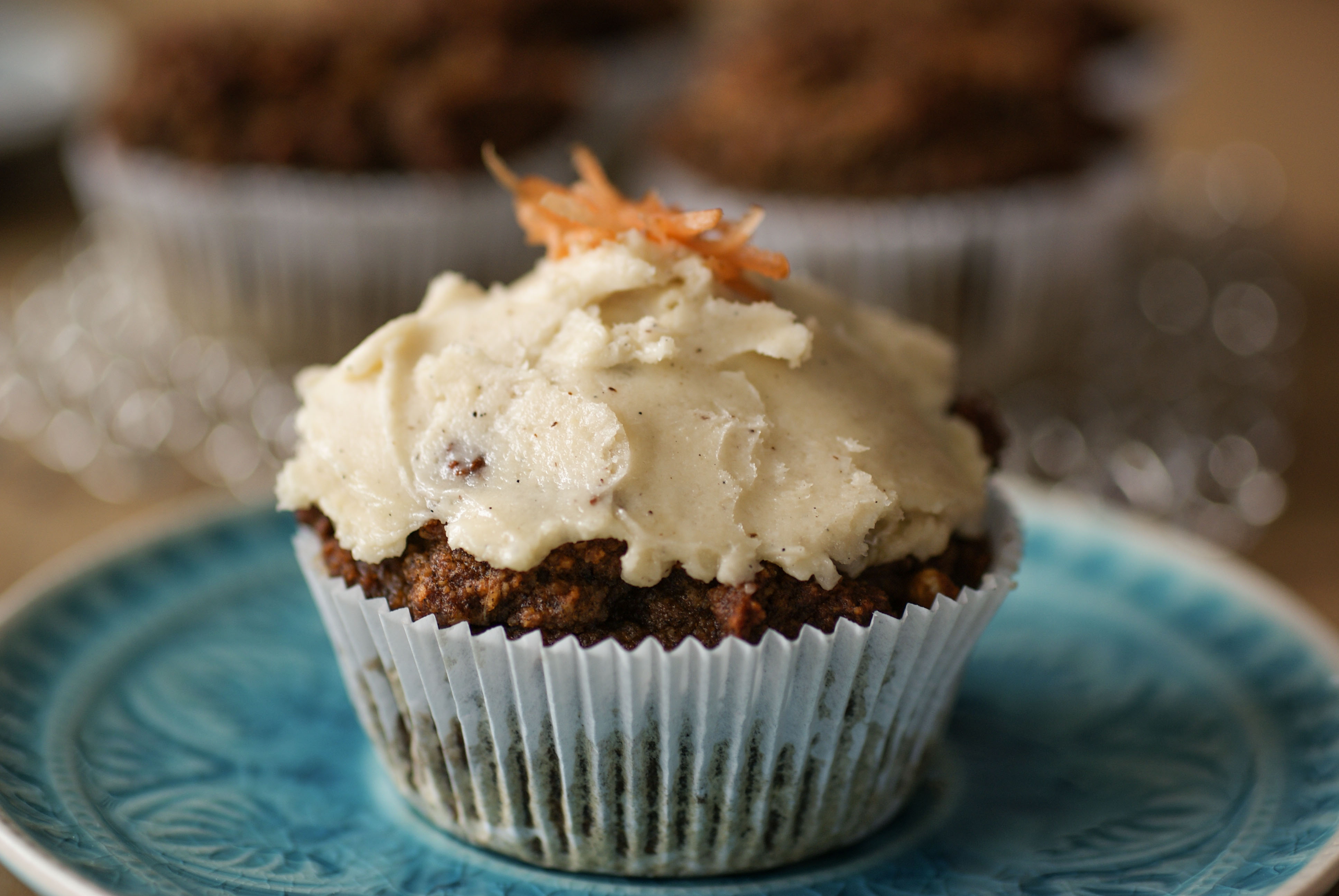 Carrot Cake Muffins With Cream Cheese Frosting Swiss Paleo