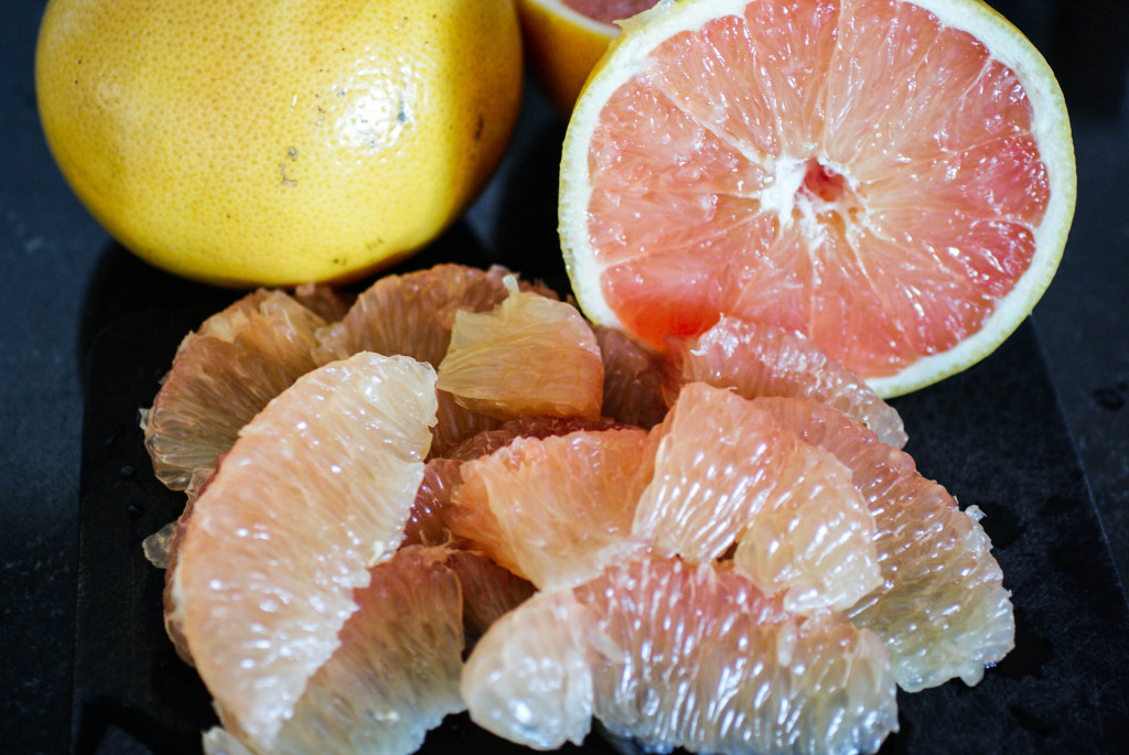 Grapefruit sections