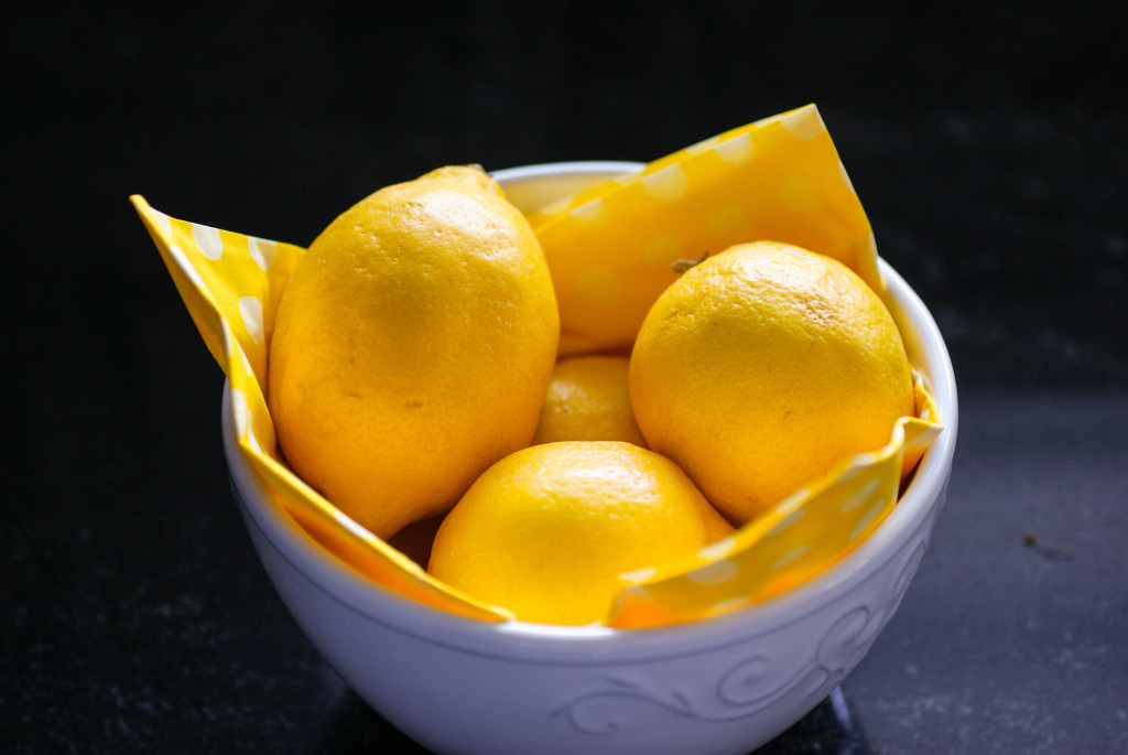 Lemons soon to be brownies