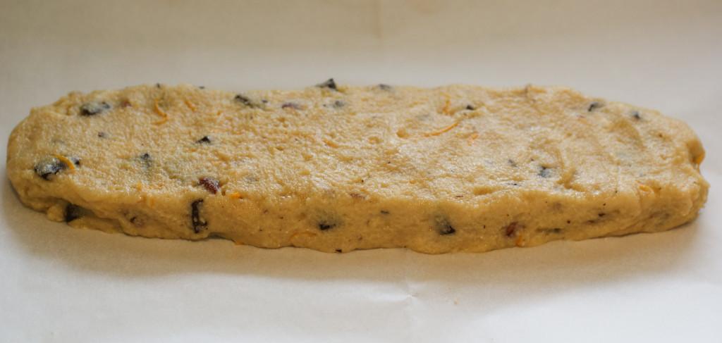 The biscotti log