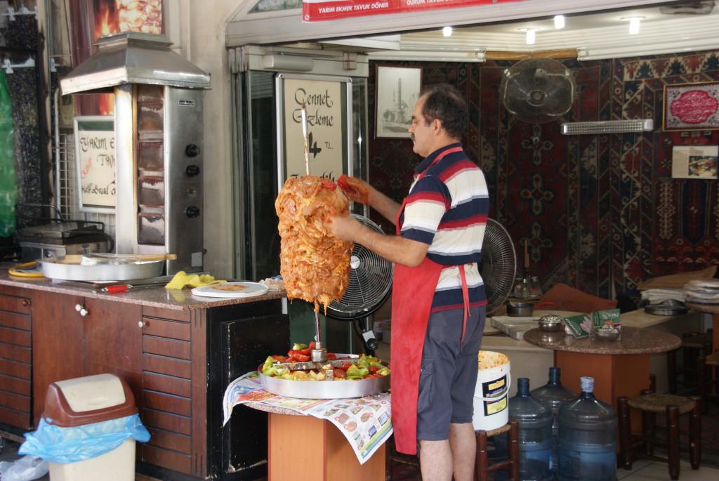 Gyros in Istanbul, Turkey