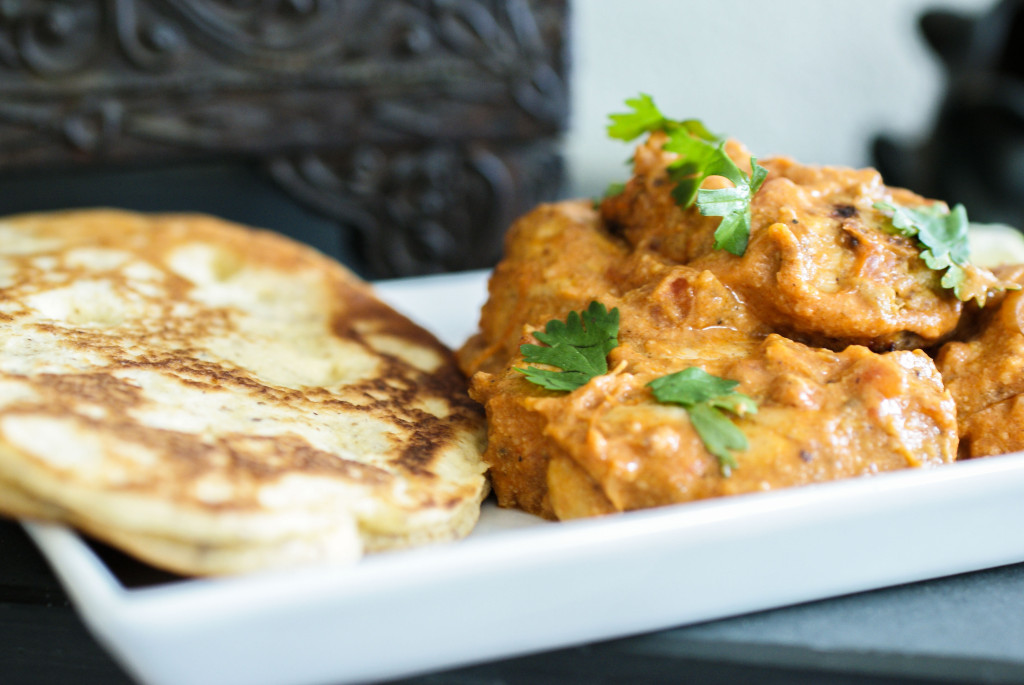 Tikka Masala with Naan Bread