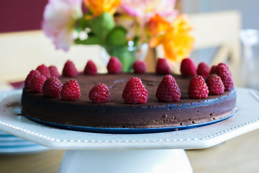 Silky Smooth Chocolate Fudge Cake | Swiss Paleo