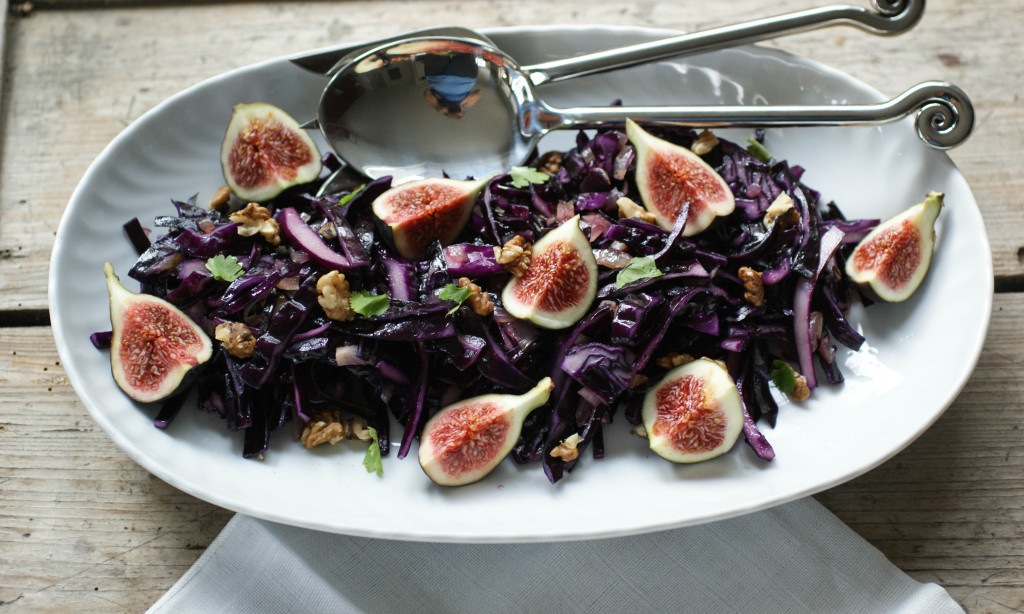 Red cabbage and figs