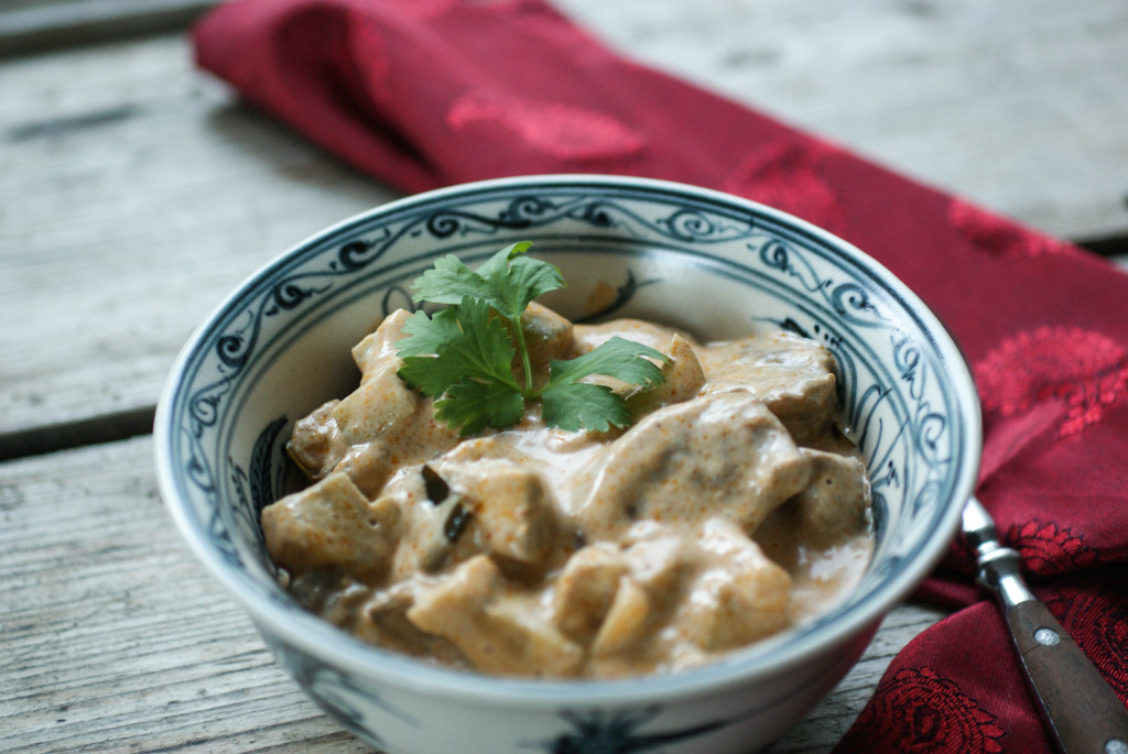 Creamy curry