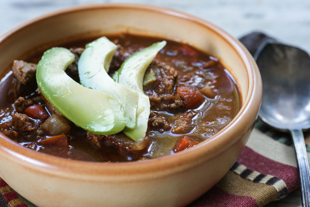 Paleo Double the Beef Chili