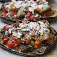 Paleo Stuffed Eggplant