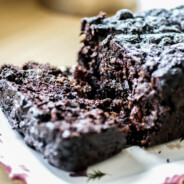 Paleo Dark Chocolate Zucchini Bread (super moist!)