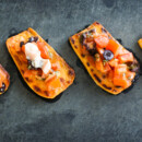 Mary's Sweet Potato Bruschetta