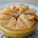 Broiled Pink Grapefruit