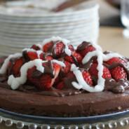 Paleo Dark Chocolate Cheesecake