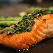 Zesty and Saucy Salmon
