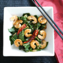 Bok Choy Shrimp
