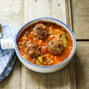 Meatball Cabbage Soup