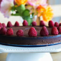 Silky Smooth Chocolate Fudge Cake