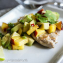 Pan Seared Tuna with Nectarine Avocado Salsa