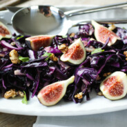 Red Cabbage and Fig Salad