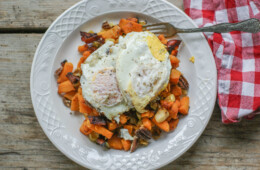 Butternut Squash Breakfast Hash